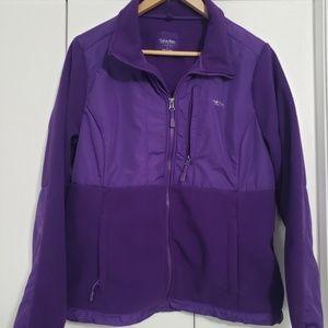 Calvin Klein purple Performance Jacket size Large